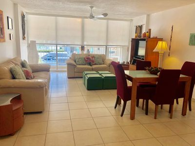 Photo for Three bedrooms Apartment with large balcony with ocean side view next to hotels