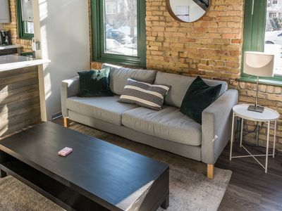 Photo for Rustic Waterfront 1BR Apt
