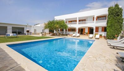 Photo for QUIET AND SPACIOUS HOUSE WITH POOL, BBQ, BILLIARDS, PING PONG; ONLY 2KM FROM IBIZA CITY & THE BEACH