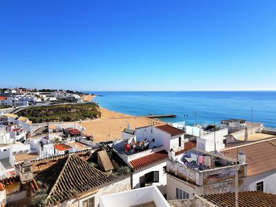 Photo for Luxury 3 bedroom townhouse with spectacular sea views in Albufeira Old Town