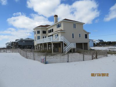 Photo for Direct Gulf Front, 7 Bedroom, Enormous Home. 4500 Square Feet!