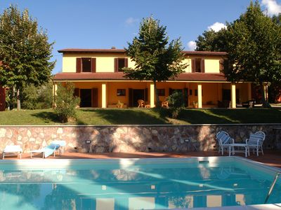 Photo for Villa Umbria - a peaceful oasis surrounded by vineyards in the Todi - Orvieto area