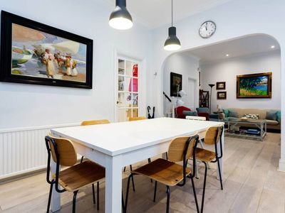 Photo for Charming 3 BR mews house in South Kensington, walk to the museums (Veeve)