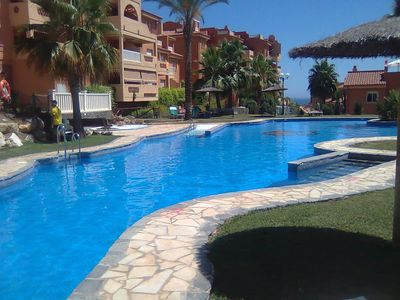 Photo for FROM £210pw, 2/3bed Sleeps 7  CABOPINO, MARBELLA,  SOUTH FACING BALCONY