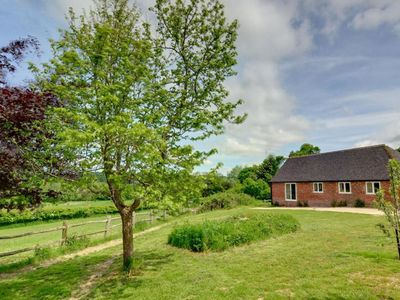 Photo for Holiday home offering stunning views across the valley in the village of Sedlescombe