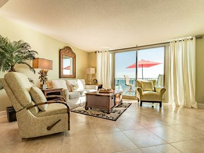Photo for Comfortable, gulf front unit, Stunning views, Close to dining