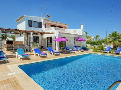 Photo for Villa Miramar- Detached spacious Villa with a private pool, A/C & WI-FI & a BBQ