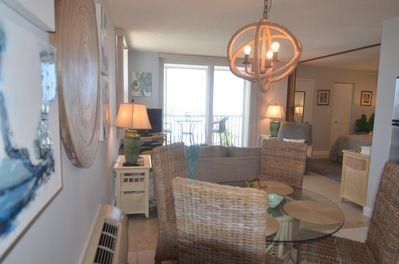This is your view as you enter our newly remodeled condo.