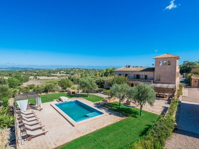 Photo for FINCA SON COLOM - Villa with private pool in MANACOR.