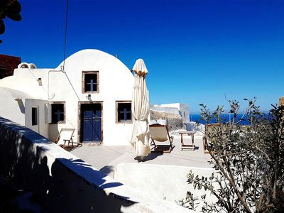 Photo for House of the Seven Ships Traditional house with view over the Aegean Sea