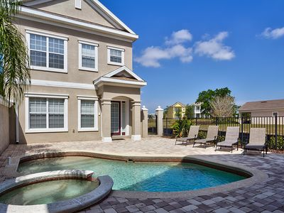 Photo for Disney On Budget - Arcadia Estates - Beautiful Contemporary 4 Beds 4 Baths  Pool Villa - 2 Miles To Disney