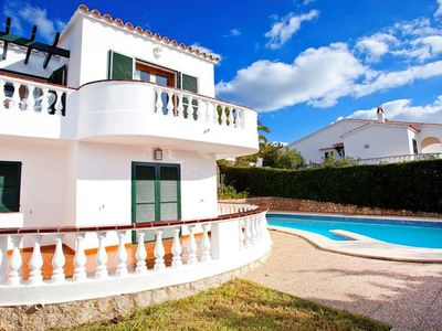 Photo for Villa Vidal Dos and Villa Vidal are two semi-detached villas sharing a pool, located near to the res