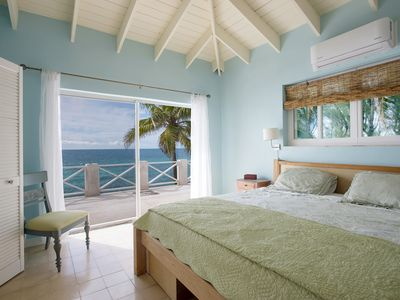 Photo for New Listing: Oceanfront Home on Calm Caribbean