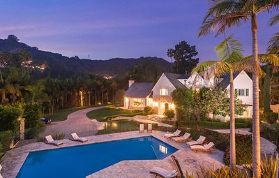 Photo for Expansive Polo Estate in Beverly Hills! Pool, Hot Tub, and Giant Yard!