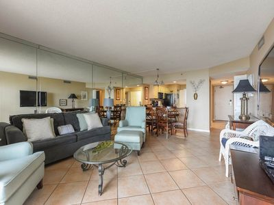 Photo for Lovely Unit Sleeping 6! Great Amenities, Gulf View, Private WiFi, Large Balcony!