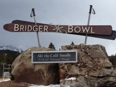 Bridger Bowl Entrance