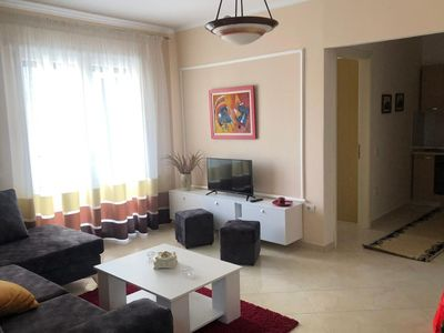Photo for Bilo Tirana, air-conditioned apartment with flat-screen TV, wi-fi and private bathroom. The apartmen