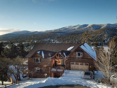 Photo for Mountain Canyon Retreat: View of Lake and Mountains! Dry Sauna! Pool Table! Ping Pong!
