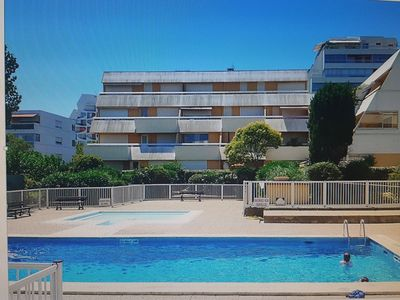 Photo for Large studio next to the sea at the heart of the Grande Motte