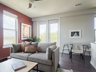 Photo for Sonder | Southtown Apartments | Lovely 2BR + Pool