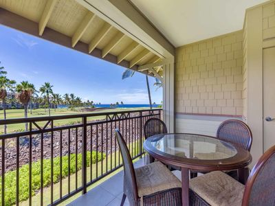 Photo for Ocean View Bliss w/Open Kitchen, Laundry, Lanai, AC, WiFi–Halii Kai Waikoloa 9A