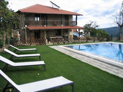 Photo for Beautiful house with pool and jacuzzi in Sever do Vouga, ideal to enjoy between family and friends