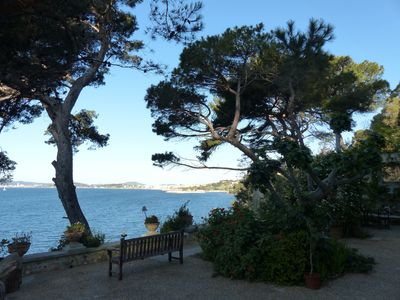 Photo for Magical house right on the sea in the South of France