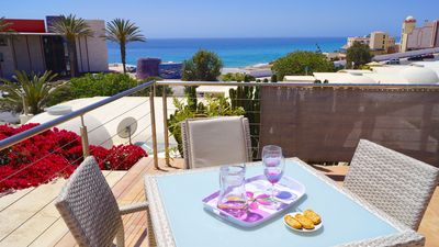 Photo for Villa with private pool and free glass fase Internet, 3 min from Mehrr