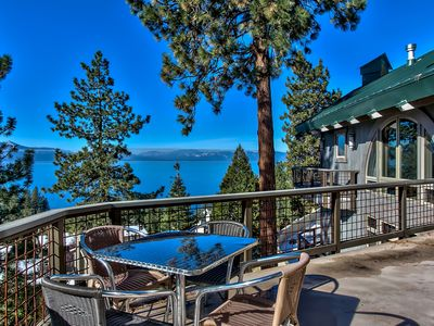 Photo for Luxurious Lakeview Retreat in Cave Rock Estates with Awe Inspiring Views