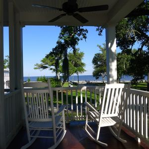 Porch view.