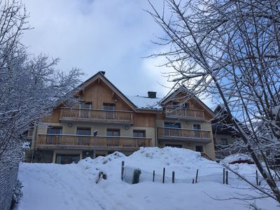 Photo for 4 bedroom chalet set over 3 floors with south-facing terrace and balconies