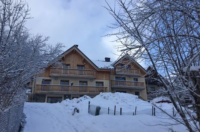 Chalet des Cousins II on the right (Chalet Galbert on left)