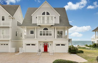 Photo for Newly Renovated OCEANFRONT Dream Home with Hot Tub SLEEPS 20