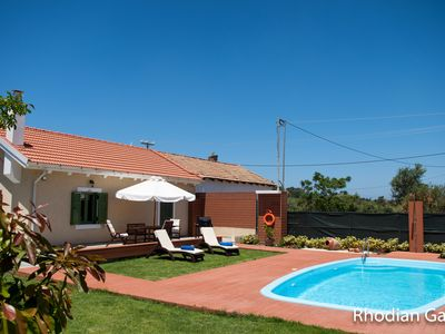 Photo for Rhodian Gaea House with private pool