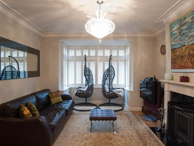 Photo for Trendy and comfortable 4 bed house located in charming Wimbledon (Veeve)