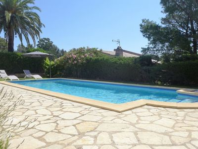 Photo for Stunning  villa for 7 guests with private pool, WIFI, TV and parking
