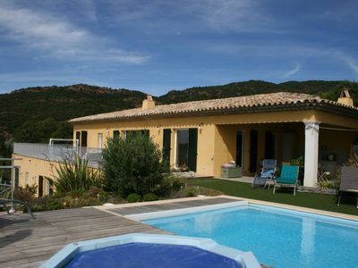 Photo for VILLA 8 People, swimming pool, jacuzzi, panoramic sea view
