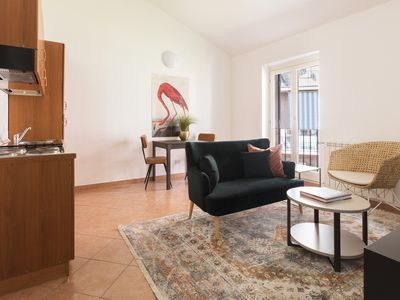 Photo for Playful 1BR in San Pietro / Vaticano by Sonder