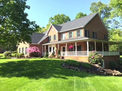 Our beautiful home located on 3 acres on the Yellow Breeches Creek
