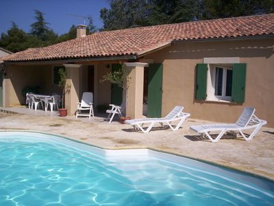 Photo for Cottage for holidays in CABRIERES D'AVIGNON close to GORDES in Provence
