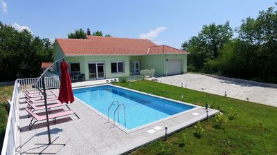"Photo for Holiday house with pool - ""FOUR M"" - NEW !! Total privacy"
