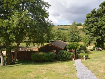 Converted lodge nestling in the Ashcombe Valley