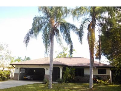 Photo for Tranquil 2BR, 2Bath home with private pool and fenced back yard