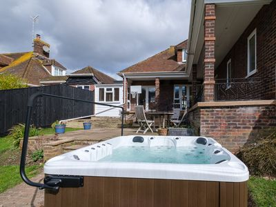 Photo for Amazing house for up to 18 guests with HOT TUB and GYM!!!