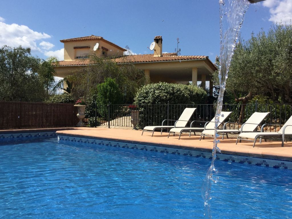 A Comfortable Holiday Home With A Private Swimming Pool Chella Valencia Province Valencian