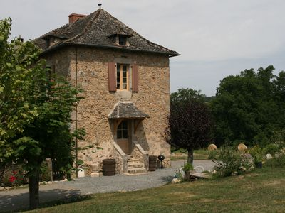 Photo for Rural gite with salt water pool in the historic South West region of France