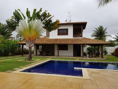 Photo for Wonderful house by the sea in guarajuba!