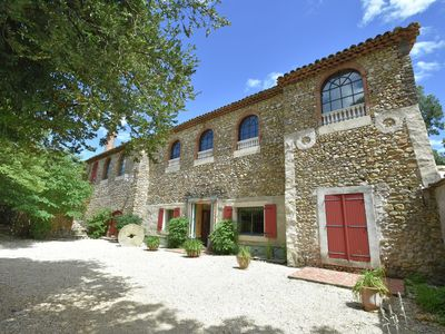 Photo for Holiday villa with private swimming pools, large garden in southern France