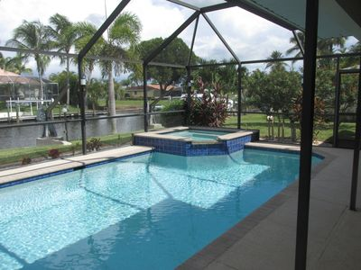 Photo for Location is everything in Cape Coral!  Quiet tropical neighborhood on canal