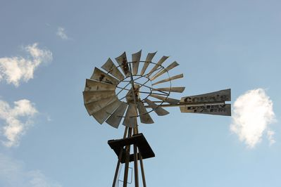 Our goal is to get this windmill working again!